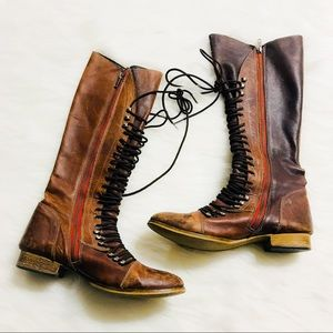 Steve Madden Distressed Leather Boots